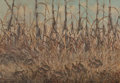 Paintings:Early Texas Art - Regionalists, William Robert Thrasher (American, 1908-1997). Pheasants in the Brush. Oil on canvas. 24 x 36 inches (61.0 x 91.4 cm). S...