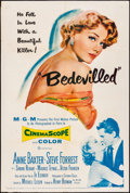 Movie Posters:Crime, Bedevilled (MGM, 1955). Folded, Fine/Very Fine. On...