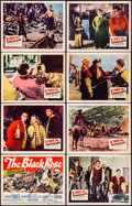 """Movie Posters:Adventure, The Black Rose & Other Lot (20th Century Fox, 1950). Fine/Very Fine. Lobby Card Sets of 8 (2 Sets) (11"""" X 14""""). Adventure.. ... (Total: 16 Items)"""