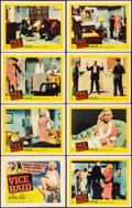 Movie Posters:Crime, Vice Raid & Other Lot (United Artists, 1960). Fine/Very Fi...
