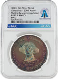 Explorers:Space Exploration, Copernicus 500th Anniversary Commemorative Medal Issued by the Copernicus Medical Research Foundation, 1973 PF 65 Cameo NGC Di...