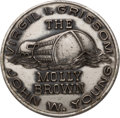 Explorers:Space Exploration, Gemini 3 Flown Silver Fliteline Medallion Originally from the Personal Collection of Mission Commander Gus Grissom, with a Sig...