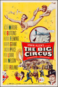 "Movie Posters:Drama, The Big Circus (Allied Artists, 1959). Folded, Fine/Very Fine. OneSheets (2) (27"" X 41"" & 28"" X 42"") Two Styles. Dra..."