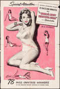 Movie Posters:Short Subject, The World's Most Beautiful Girls (Universal International,...