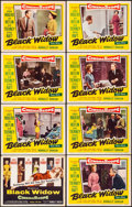 Movie Posters:Drama, Black Widow & Other Lot (20th Century Fox, 1954). Overall:...