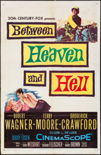 Between Heaven and Hell & Other Lot (20th Century Fox, 1956). Folded, Overall: Fine/Very Fine. One Sheets (2) (27&qu...