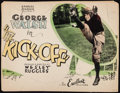 """Movie Posters:Drama, The Kick-Off (Excellent, 1926). Fine+. Trimmed Title Lobby Card (10.25"""" X 13.25""""). Drama.. ..."""