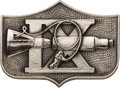 Explorers:Space Exploration, Gemini 9A Flown Silver Fliteline Medallion Originally from the Personal Collection of Mission Commander Tom Stafford, with His...