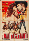 "Movie Posters:Western, Jesse James' Women (International Films Distribution, Late-1950s).Folded, Fine+. Italian 2 - Fogli (39.25"" X 55""). C..."