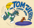 Animation Art:Presentation Cel, The Tom and Jerry Comedy Show Publicity Title Cel(Filmation, 1980). ...