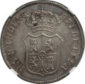 Colombia, Colombia: Ferdinand VII silver Bogota Proclamation Medal of 2Reales 1808 MS62 NGC,...