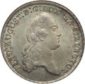 German States:Saxony, German States: Saxony. Friedrich August III Taler 1780/70-IEC MS66 NGC,...