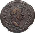 Ancients:Roman Imperial, Ancients: Galba (AD 68-69). AE sestertius (36mm, 26.98 gm, 6h). NGCVF 5/5 - 3/5, Fine Style....