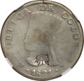 Ecuador, Ecuador: Republic Countermarked 8 Reales ND (1831) VG Details (Cleaned) NGC,...
