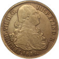 Colombia, Colombia: Ferdinand VII gold 8 Escudos 1816 Pn-FR VF30 NGC,...