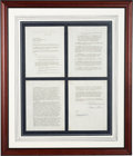 Baseball Collectibles:Others, 1970 Mickey Mantle Signed NBC Sportscaster Contract....