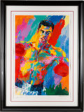 Boxing Collectibles:Autographs, 2001 Muhammad Ali Serigraph by LeRoy Neiman with Autographs fromEach. ...