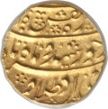 Afghanistan, Afghanistan: Durrani. Taimur Shah (as Sultan) gold Mohur (AH 1186)Year 1 (1772/3) UNC Detail (Cleaned) PCGS,...