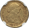 Colombia, Colombia: Charles III gold Escudo 1782 P-SF XF45 NGC,...