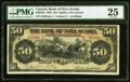 Canadian Currency, Halifax, NS- The Bank of Nova Scotia $50 July 2, 1920 Ch. # 550-28-26 PMG Very Fine 25.. ...