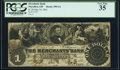 Obsoletes By State:Ohio, Massillon, OH- Merchants Bank of Massillon $1 May 24, 1861 G4 Wolka 1611-02 PCGS Very Fine 35.. ...