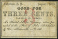 Obsoletes By State:New Hampshire, Fisherville, NH- John Batchelder 3¢ Aug. 1, 1863 Fine-Very Fine.. ...