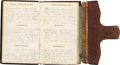 Military & Patriotic:Civil War, 1863 Diary Belonging to Moses Bennett of the 21st Indiana Light Artillery....