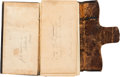 Military & Patriotic:Civil War, 1863 Diary Belonging to Corporal John N. Collier of the 43rd Massachusetts Volunteers....