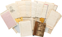George G. Thwing, 30th Massachusetts Infantry, Archive of Letters and Journal
