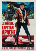 "Movie Posters:Western, Captain Apache (Medusa, 1971). Folded, Fine/Very Fine. Italian 4 -Fogli (55"" X 77.5"") Averardo Ciriello Artwork. Wes..."