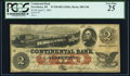 Obsoletes By State:Rhode Island, Providence, RI- Continental Bank $2 Apr. 2, 1863 G4b Durand 1234 PCGS Very Fine 25.. ...