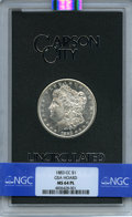 1883-CC $1 GSA MS64 Prooflike NGC. NGC Census: (691/259). PCGS Population: (38/18). MS64. Mintage 1,204,000. ...(PCGS# 5...