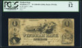 Obsoletes By State:Connecticut, Windham, CT- Windham Bank $1 Apr. 1, 1862 G8a PCGS Fine 12.. ...