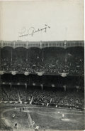Baseball Collectibles:Others, 1928 Babe Ruth & Lou Gehrig Dual-Signed Book....
