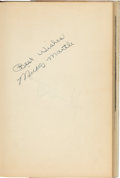 Baseball Collectibles:Others, 1953 Mickey Mantle Signed Book....