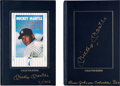 Baseball Collectibles:Others, 1991 Mickey Mantle Signed Books Lot of 2.... (Total: 2 items)