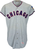 Baseball Collectibles:Uniforms, 1967 George Altman Game Worn Chicago Cubs Jersey....