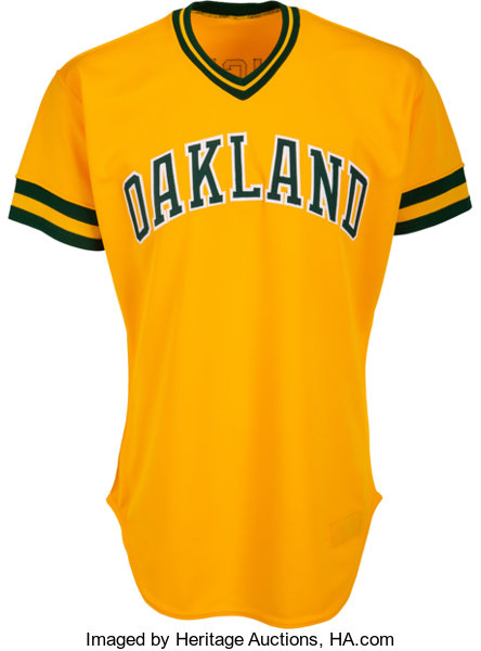 21ffacd1 Baseball Collectibles:Uniforms, 1986 Jose Canseco Game Worn Oakland  Athletics Rookie Jersey.