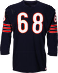 Football Collectibles:Uniforms, 1972 Jim Osborne Game Worn Chicago Bears Jersey - Rookie Year!...