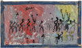 Paintings:Contemporary, Purvis Young (1943-2010). Freedown, circa 1997. Oil on found canvas laid on board. 28-1/2 x 48 inches (72.4 x 121.9 cm)...