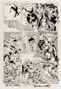 Original Comic Art:Panel Pages, Luke McDonnell and Steve Mitchell Iron Man #177 Story Page15 Original Art (Marvel, 1983)....