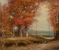 Fine Art - Painting, American, Robert William Wood (American, 1889-1979). In the Fall. Oilon canvas. 25 x 30 inches (63.5 x 76.2 cm). Signed lower rig...