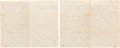 Military & Patriotic:Civil War, Humphrey W. Drake, 16th New York Cavalry, Group of Letters....