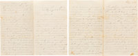Humphrey W. Drake, 16th New York Cavalry, Group of Letters