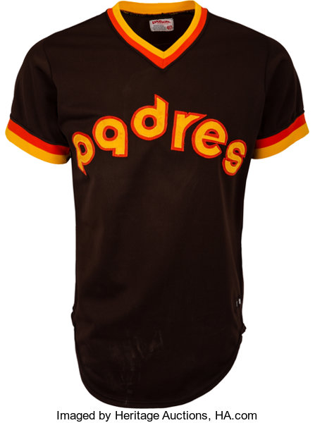 meet f9e94 98fe1 1980 Ozzie Smith Game Worn San Diego Padres Jersey ...