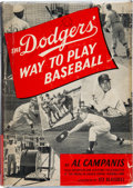 Baseball Collectibles:Others, 1954 Brooklyn Dodgers Multi-Signed Book with Jackie Robinson....