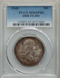 Franklin Half Dollars, 1948 50C Doubled Die Reverse, FS-801, MS65 Full Bell Lines PCGS. PCGS Population: (28/4). MS65....