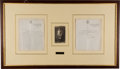 Autographs:Military Figures, Robert Baden-Powell Typed Letter Signed...