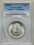Commemorative Silver, 1949-D 50C Booker T. Washington MS65 PCGS. PCGS Population: (690/444). NGC Census: (364/261). CDN: $80 Whsle. Bid for probl...