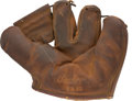 Baseball Collectibles:Others, Circa 1970 Satchel Paige Signed Fielder's Glove....